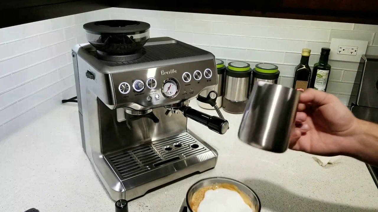Programming For A Double Shot Breville Barista Express