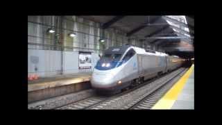 HD Amtrak and MBTA at Back Bay Station