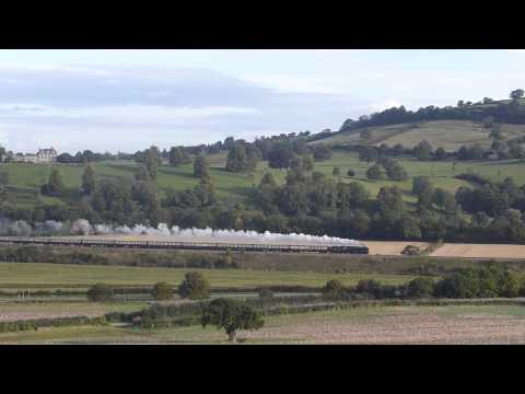 70000 `Britannia` The Torbay Express with Driver Vince Henderson 13-09-15