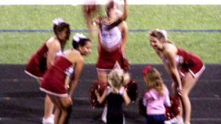 Keller Central Cheerleaders At Fossil Ridge ( New Recruits )