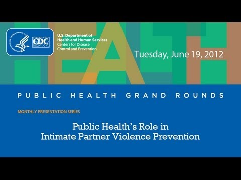 """""""Breaking the Silence -- Public Health's Role in Intimate Partner Violence Prevention"""""""