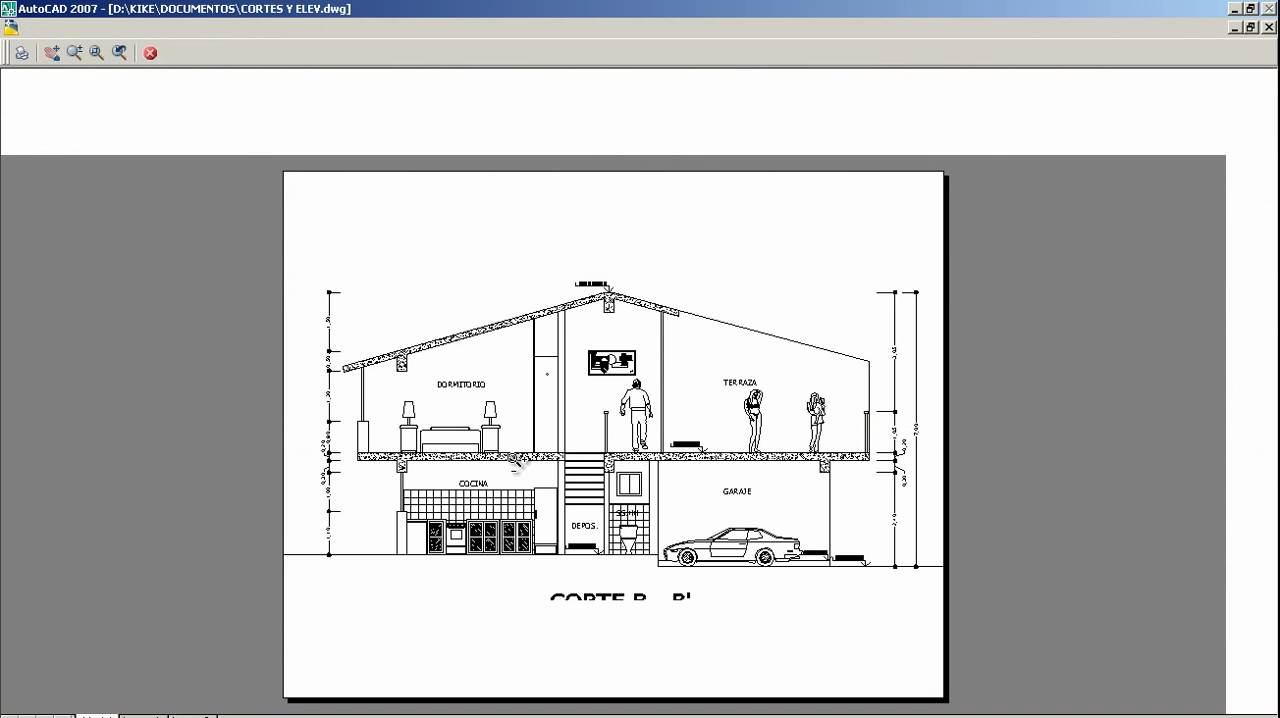 planos de casas hechos en word