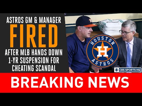 Sports Wrap with Ron Potesta - Astros Fire Luhnow, Hinch Over Sign Stealing