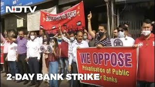 Key Services Hit As 2-Day Nationwide Bank Strike Begins