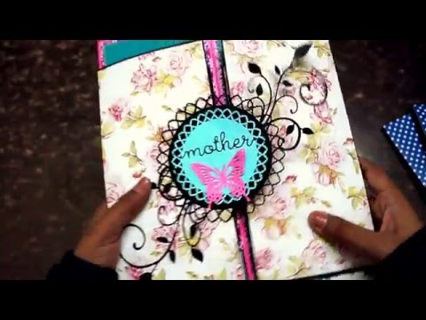 Tutorial for Multiple Gate Fold Card | The Sucrafts