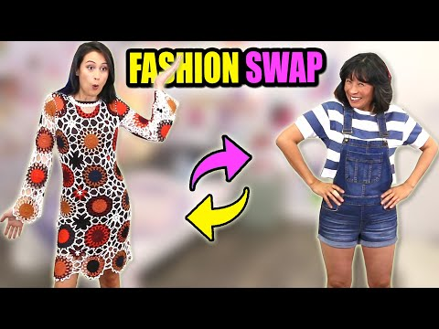 FASHION SWAP met MIJN MOEDER! || Fan Friday