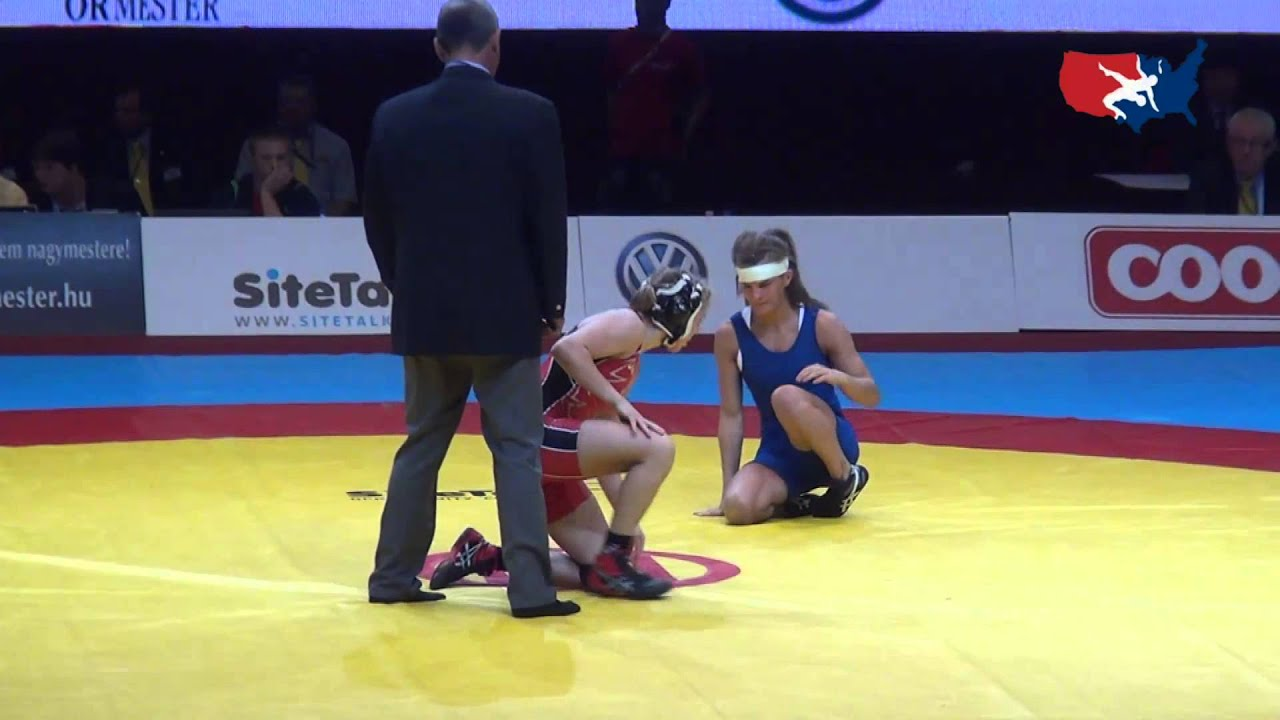 48 kg bronze alyssa lampe usa vs melanie lesaffre fra youtube