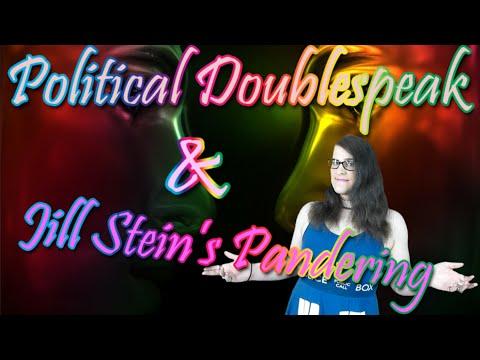 What is Political Doublespeak? Is Jill Stein Anti-vaxx?