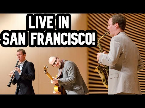 Peter & Will Anderson Trio Live in Mountain View, CA