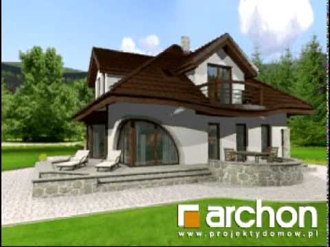 Dom W Zefirantach Archon Projekty Domów Wwwarchonpl Youtube