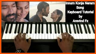 Innum konja Neram Song | Keyboard Cover & Tutorial by Aravind Fz | Dazzling Melodies |