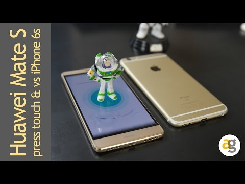Huawei Mate S Press Touch Versus 3d Touch IPhone