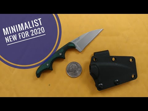 CRKT Minimalist Neck Knife (Belt Knife)
