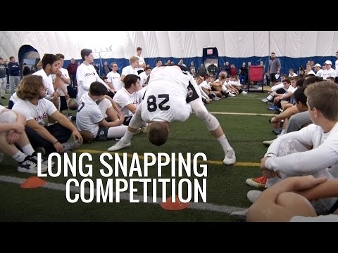 Long Snapping Competition | 2016 Eastern Showcase | Kohl