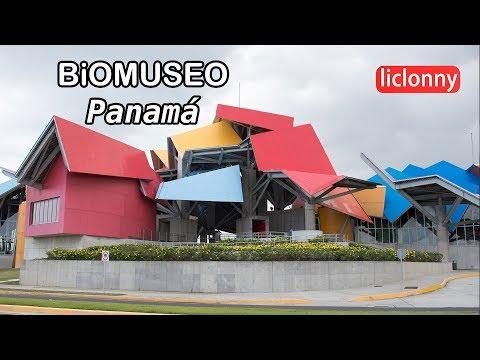 Biomuseo, Panamá: puente de Vida, galerías y exhibiciones.Video # 11. liclonny