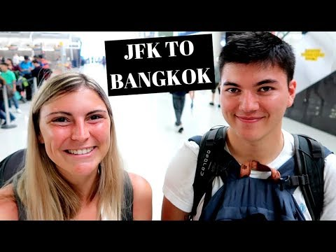 JFK To BANGKOK | 22 Hour Travel Day On China Eastern Airlines