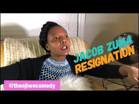 Jacob Zuma resignation