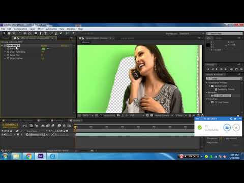 Adobe aftereffects Chroma Tutorial thumbnail