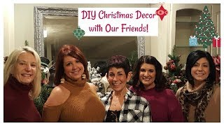 DIY Christmas Decor with Our Friends 2018   The2Orchids