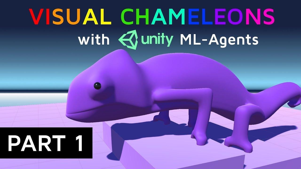 Advanced Unity ML-Agents Tutorial   Visual Chameleons (Part 1)