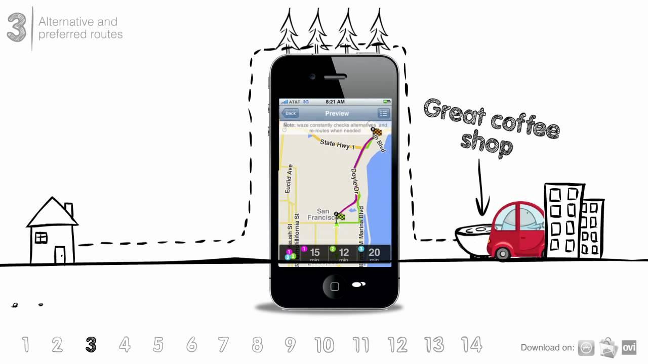 Waze Tip #3 - Alternative and preferred routes | Waze