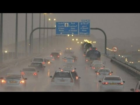 Heavy Rain In muscat Today - Muscat weather - Rain the best Present