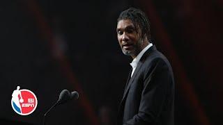 Tim Duncan apologizes for thanking Gregg Popovich in HOF speech | 2020 Basketball Hall of Fame