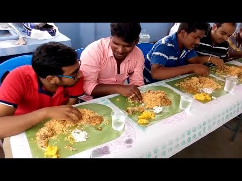 My muslim friend home made mutton biriyani party fun overloaded - Tamilnadu street food thumbnail