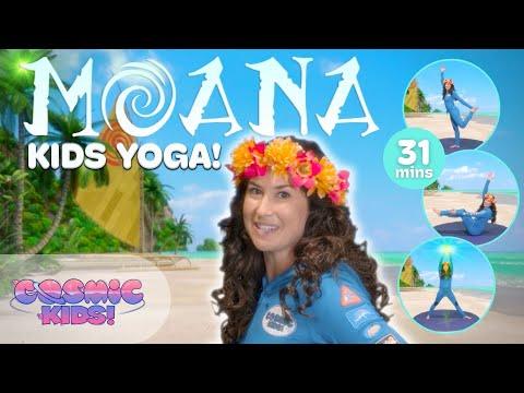 Moana A Cosmic Kids Yoga Adventure Youtube
