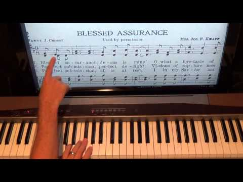 Blessed Assurance Keyboard Chords By Hymn Worship Chords