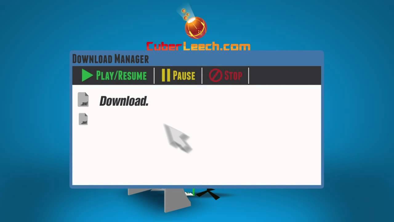 CyberLeech com - Online Download Manager