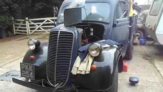 1954 Fordson E83W Pick up Truck - First start in over 4 years