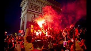 World Cup celebrations turn to violence in France