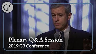 2019 G3 Conference — Plenary Q&A Session