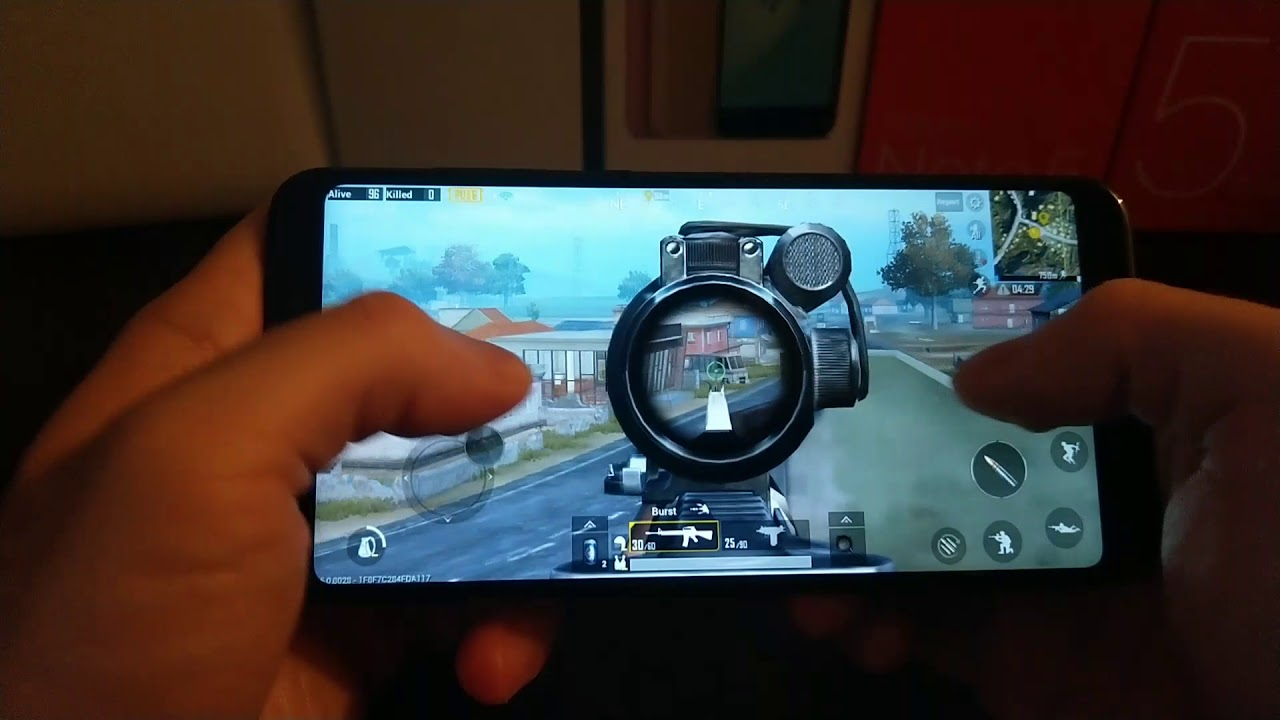 PUBG MOBILE With GFX TOOL