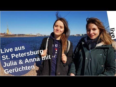 Livestream: Julia Dudnik & Anna Smirnowa aus St. Petersburg