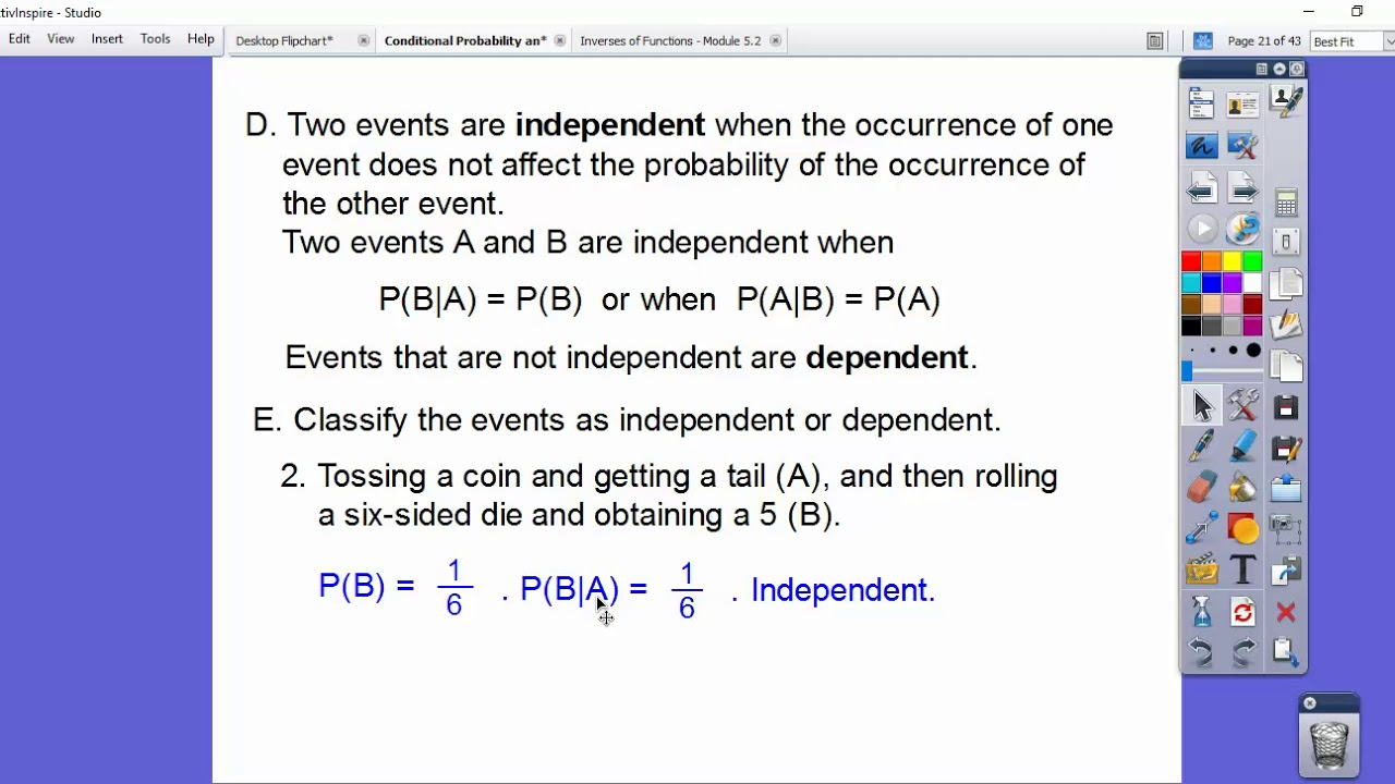 Conditional Probability And The Multiplication Rule Section 3 2 Youtube