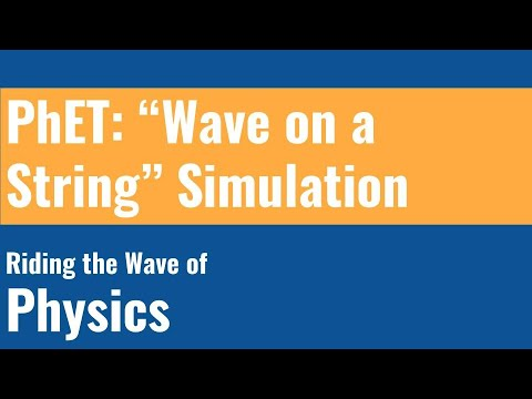 PhET Wave on a String - YouTube