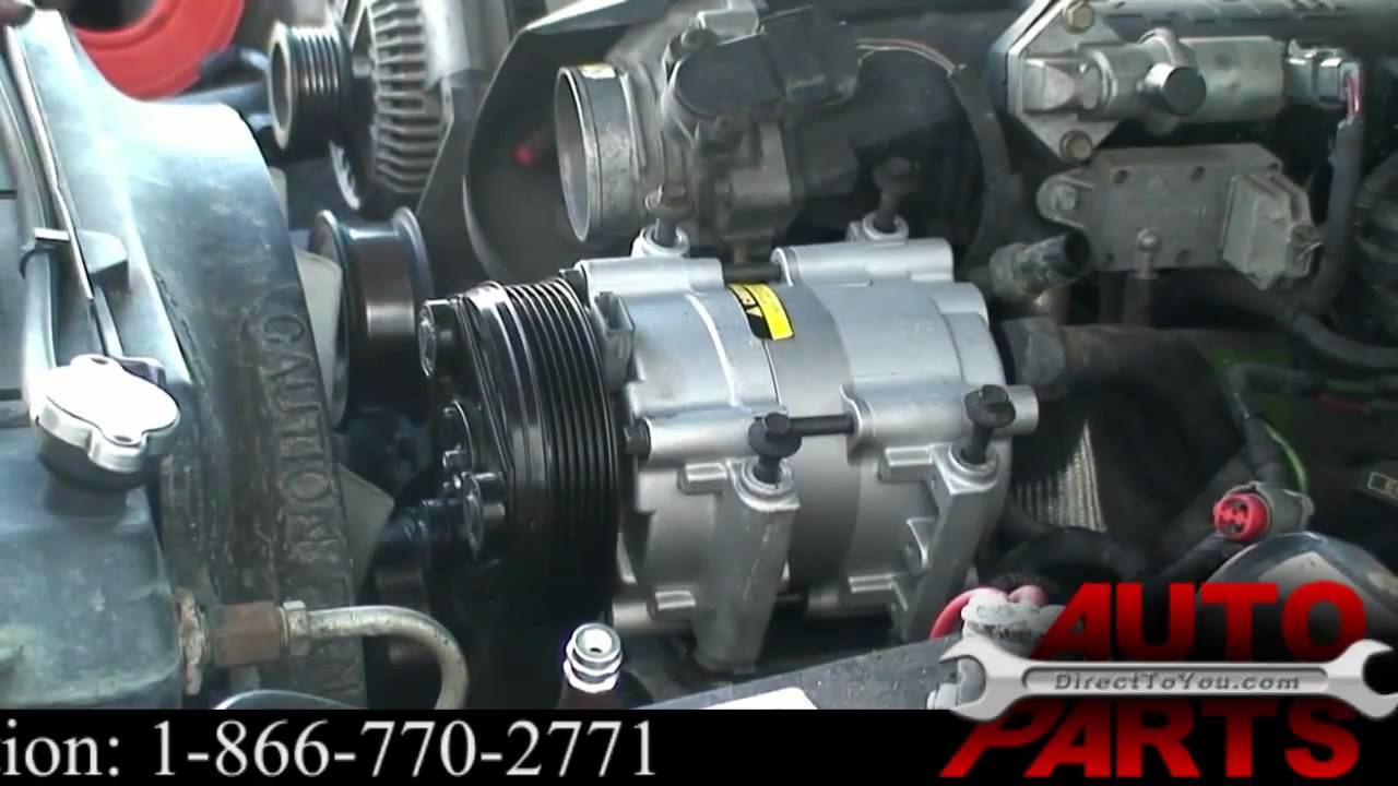 1996 Ford Explorer AC Compressor Repair Part 1  YouTube