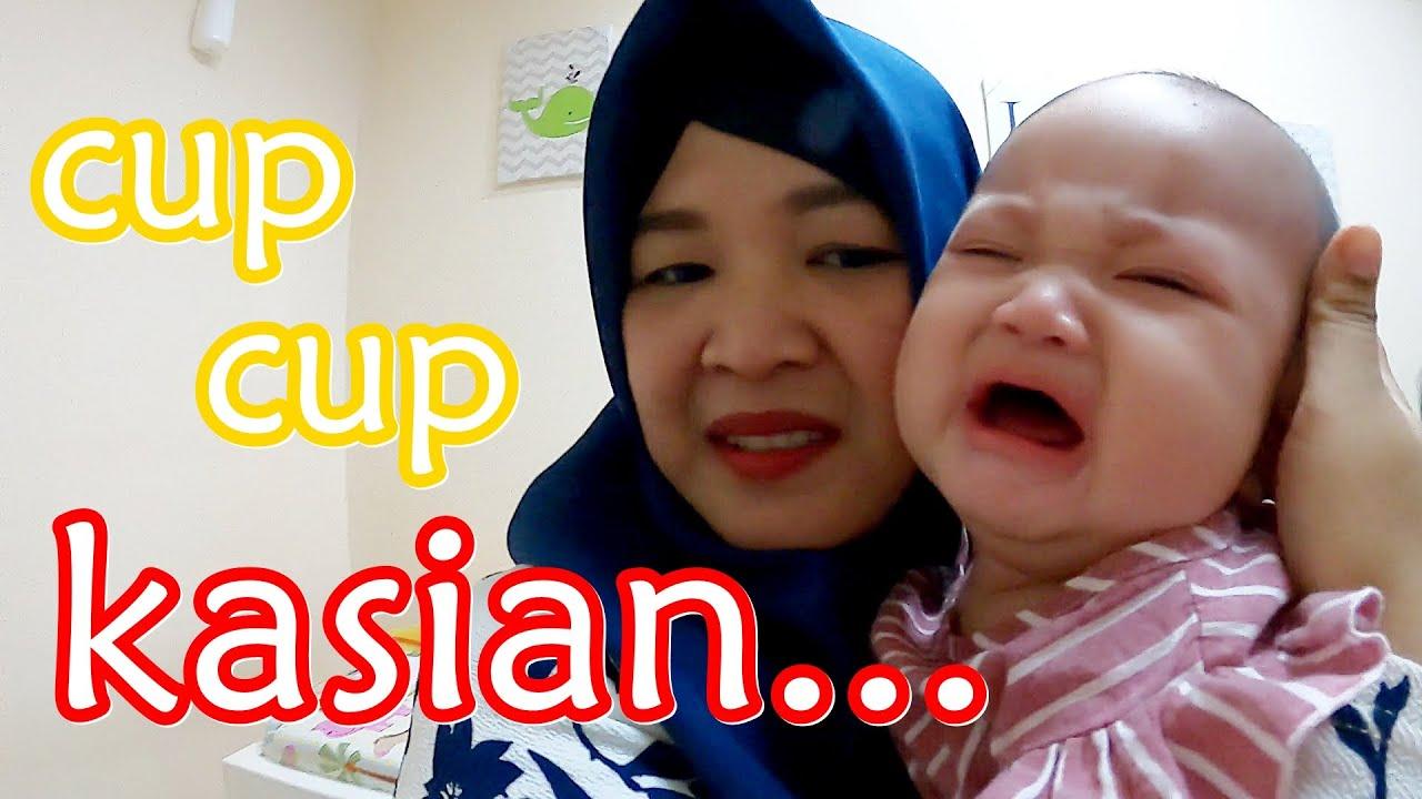 JELLY NANGIS!!! Hikk 😭 Vaksin Imunisasi Bayi 5 Bulan