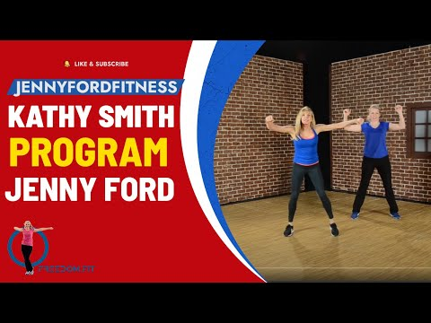 Kathy Smith  & Jenny Ford Total Body Weight Workout At-Home 35 minutes