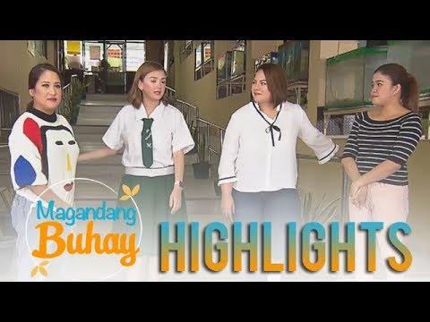 Magandang Buhay: The Momshies visit Angelica Panganiban † s school