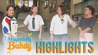 Magandang Buhay: The Momshies Visit Angelica Panganiban's School