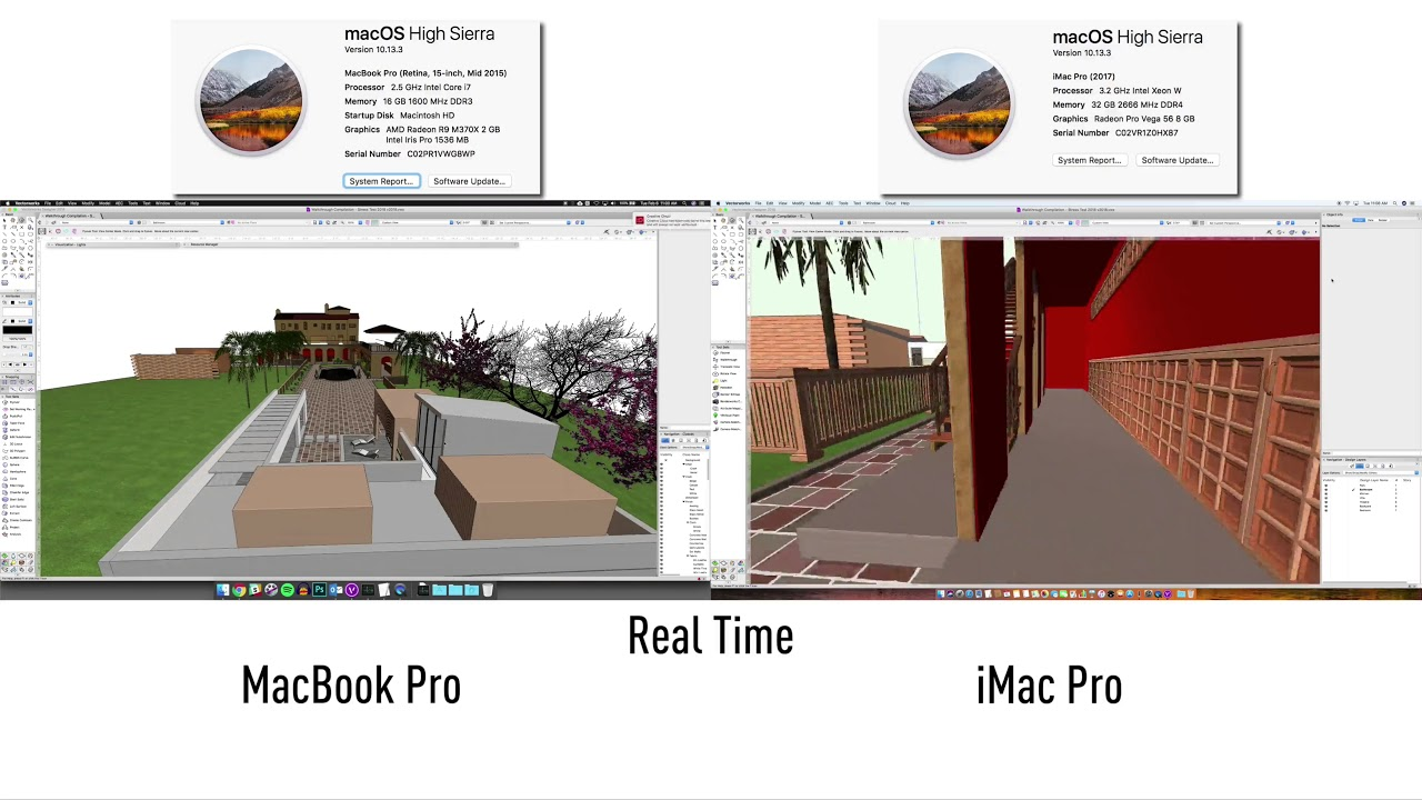 iMac Pro information - General Discussion - Vectorworks Community Board