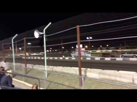Jam the stands Redwood Speedway street stock feature
