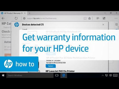 Warranty Information For Your HP Device | HP Support Website | HP