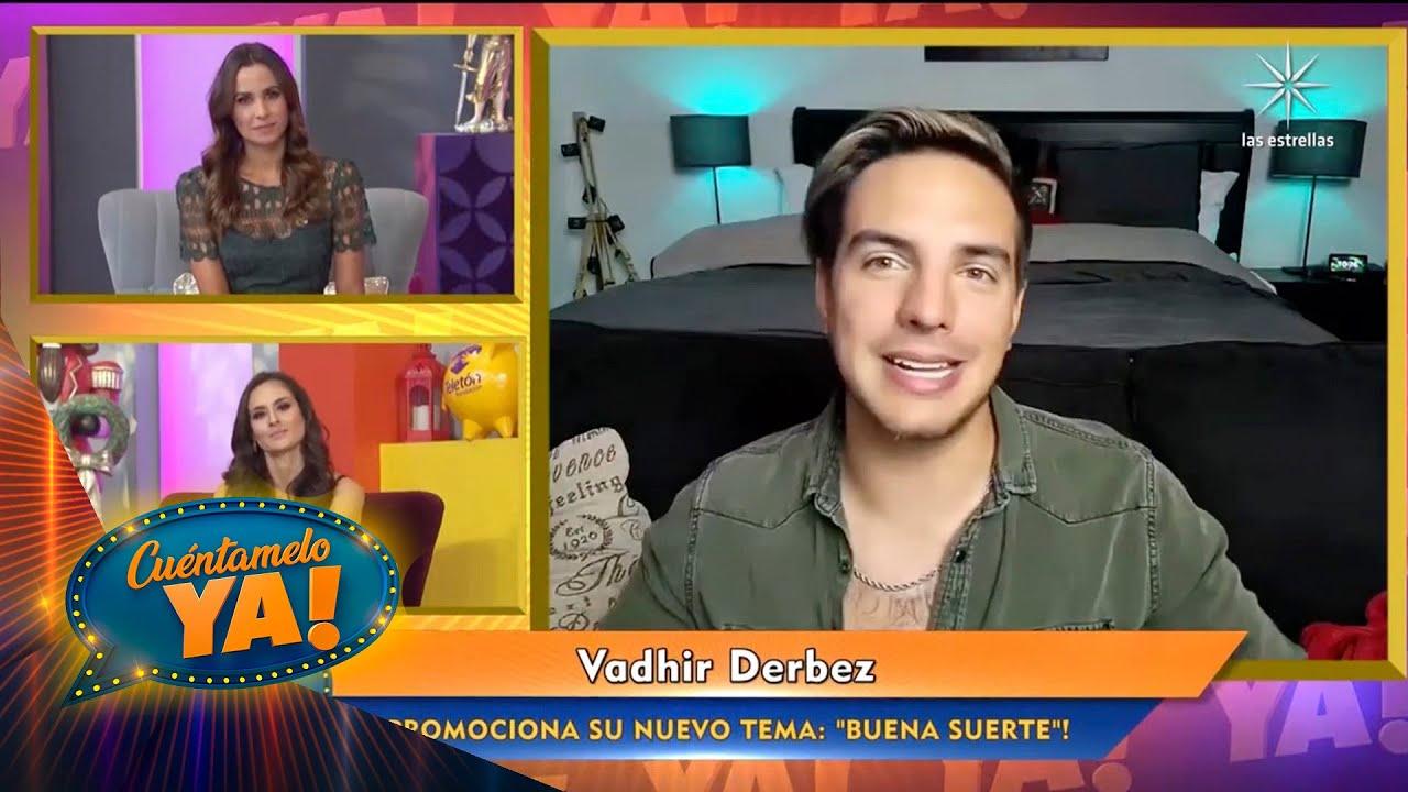 ¡Vadhir Derbez nos platica el inicia de su faceta como cantante!   Cuéntamelo YA!