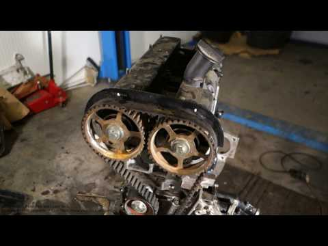 How to replace cylinder head cover Ford Zetec engine