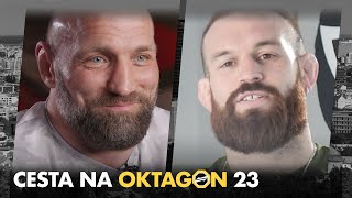 The road to OKTAGON 23: KNÍŽE vs. FUSI, BRYCZEK vs. BRITO, MIKULÁŠEK vs. ROBERTSEN