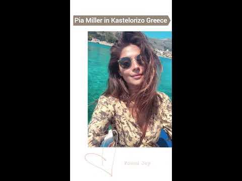 Pia Miller in Kastelorizo Greece 2019